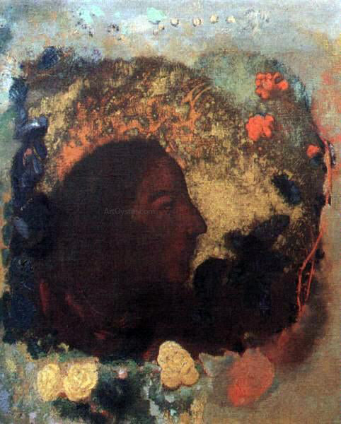 Odilon Redon Portrait of Paul Gauguin - Canvas Art Print