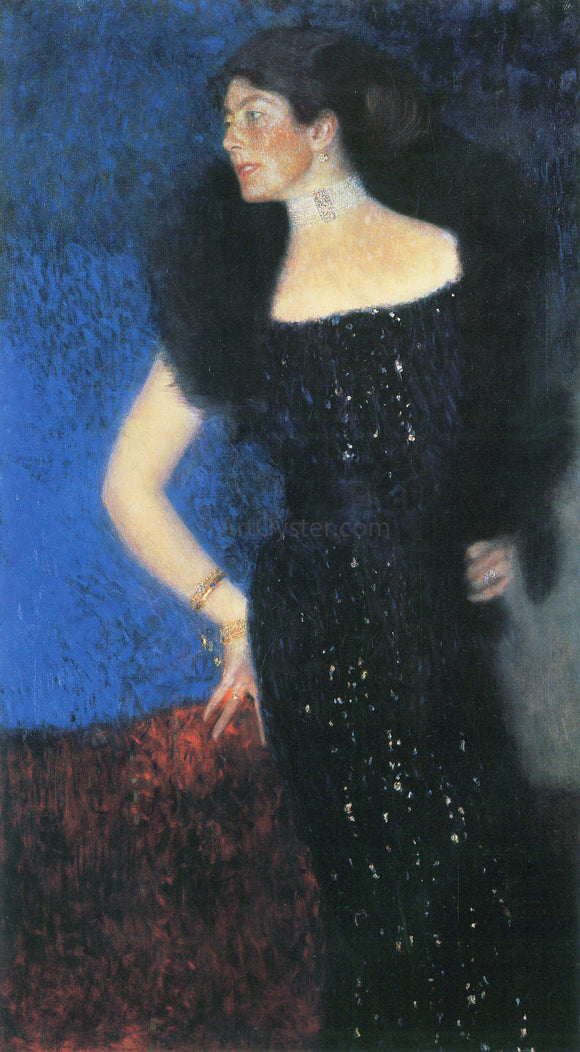 Gustav Klimt Portrait of Rose Von Rosthorn Friedmann - Canvas Art Print