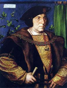 The Younger Hans Holbein Portrait of Sir Henry Guildford - Canvas Art Print