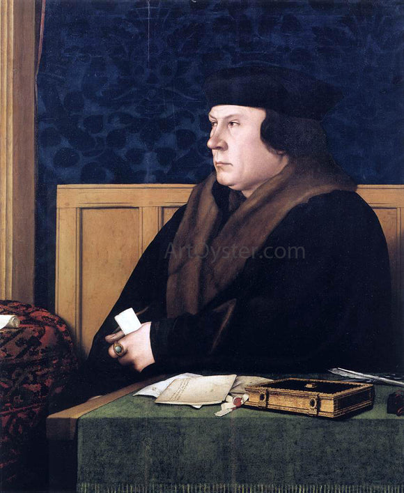 The Younger Hans Holbein Portrait of Thomas Cromwell - Canvas Art Print
