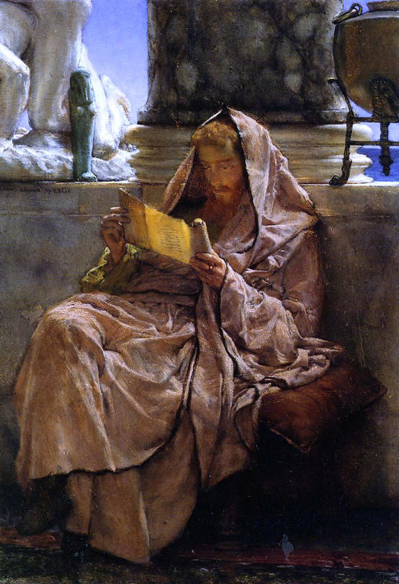 Sir Lawrence Alma-Tadema Prose - Canvas Art Print
