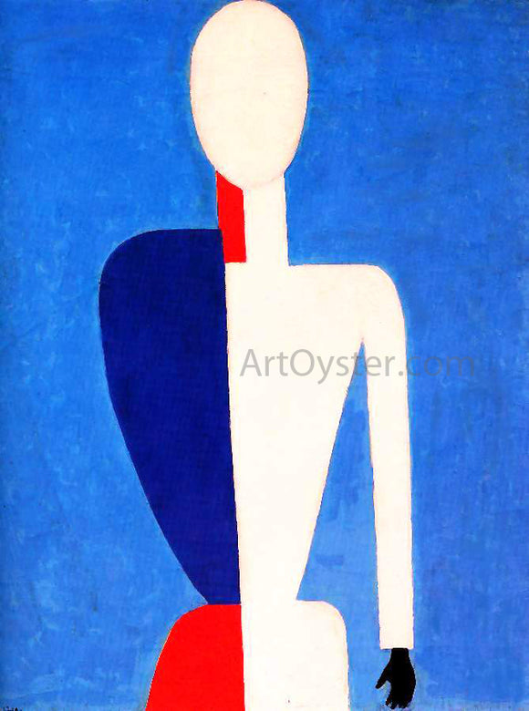 Kasimir Malevich Prototype of a New Image - Canvas Art Print