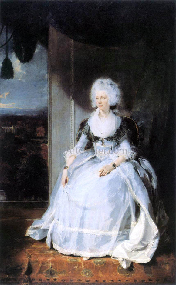 Sir Thomas Lawrence Queen Charlotte - Canvas Art Print