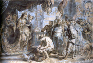 Peter Paul Rubens Queen Tomyris with the Head of Cyrus - Canvas Art Print