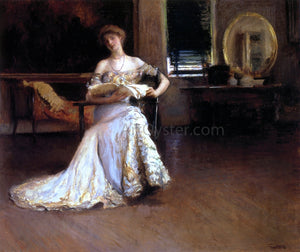 Edmund Tarbell Quiet Afternoon (also known as The Rehearsal) - Canvas Art Print