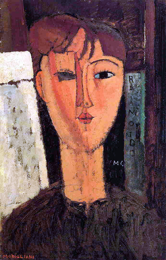 Amedeo Modigliani Raimondo - Canvas Art Print