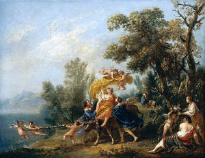 Francesco Zuccarelli Rape of Europa - Canvas Art Print
