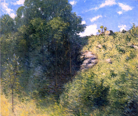 Julian Alden Weir Ravine near Branchville - Canvas Art Print