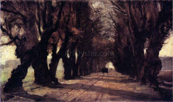 Theodore Clement Steele Road to Schleissheim - Canvas Art Print