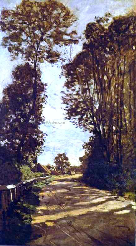 Claude Oscar Monet Road to the Saint-Simeon Farm - Canvas Art Print