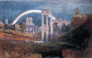 Joseph William Turner Rome: The Forum with a Rainbow - Canvas Art Print