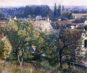 Theodore Robinson Saint Martin's Summer, Giverny - Canvas Art Print