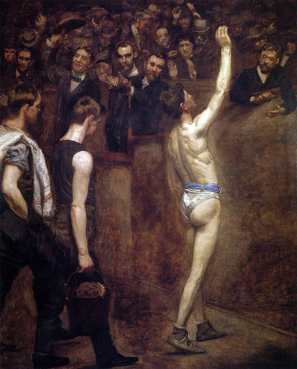 Thomas Eakins Salutat - Canvas Art Print