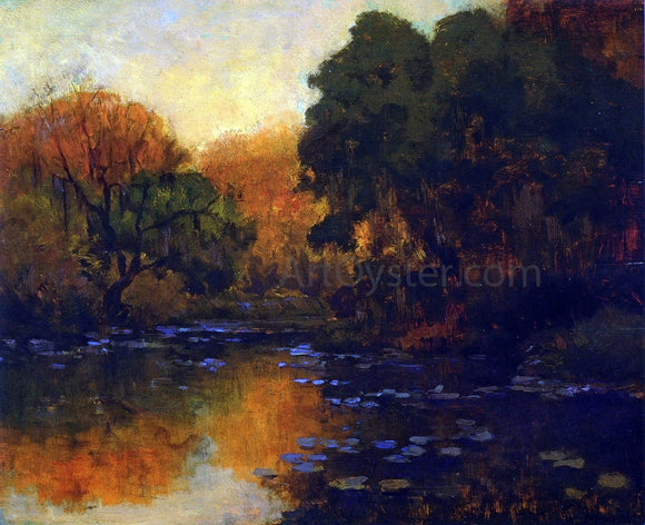 Julian Onderdonk San Antonio River - Canvas Art Print