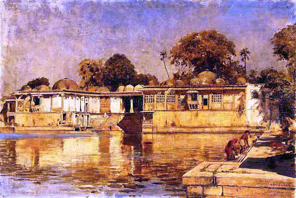 Edwin Lord Weeks Sarkeh, Ahmedabad, India - Canvas Art Print