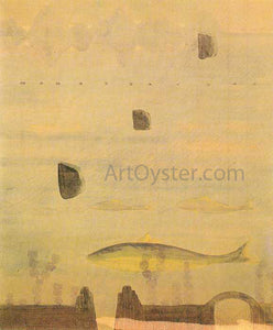 Mikalojus Ciurlionis Scherzo Sonata of the Spring - Canvas Art Print