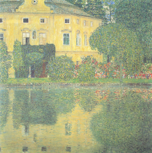 Gustav Klimt Schloss Kammer on the Attersee IV - Canvas Art Print
