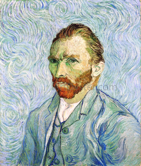 Vincent Van Gogh A Self Portrait - Canvas Art Print