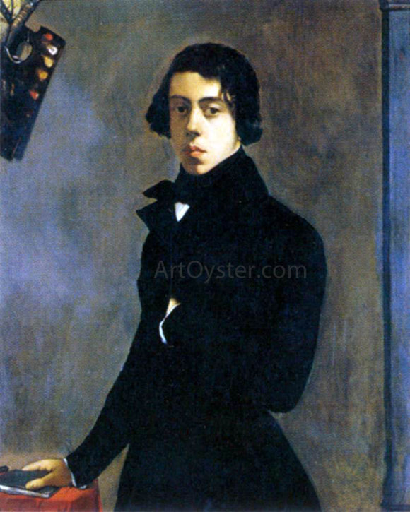 Theodore Chasseriau Self-Portrait - Canvas Art Print