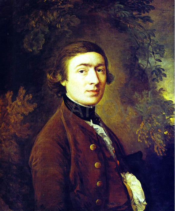 Thomas Gainsborough Self-Portrait - Canvas Art Print
