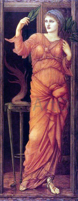 Sir Edward Burne-Jones Sibylla Delphica - Canvas Art Print
