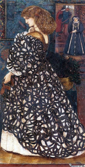 Sir Edward Burne-Jones Sidonia von Bork - Canvas Art Print