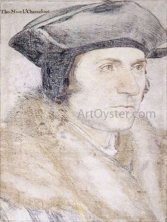 The Younger Hans Holbein Sir Thomas More - Canvas Art Print