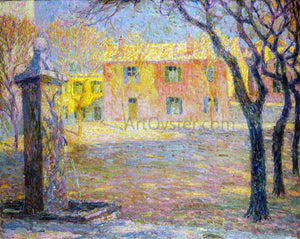 Henri Le Sidaner A Small Villa - Canvas Art Print