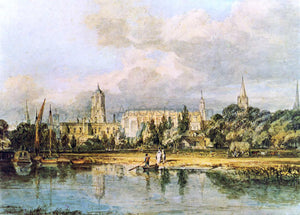Joseph William Turner South View of Christ Church, etc., from the Meadows - Canvas Art Print