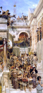 Sir Lawrence Alma-Tadema Spring - Canvas Art Print