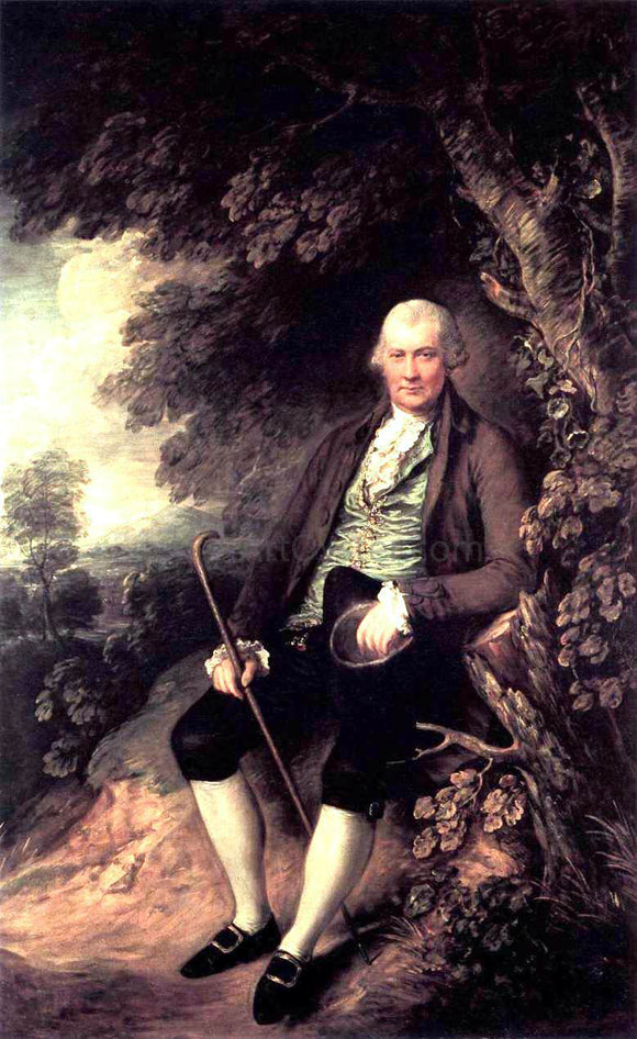 Thomas Gainsborough Squire John Wilkinson - Canvas Art Print