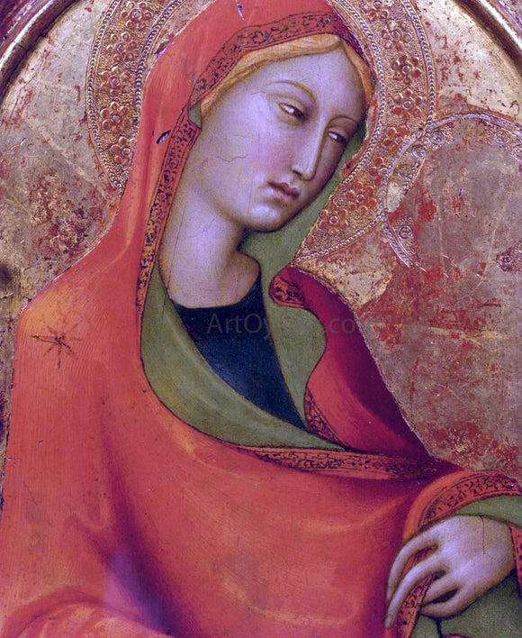 Lippo Memmi St Mary Magdalen (detail) - Canvas Art Print
