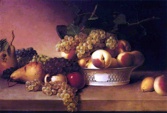 James Peale Still Life No. 2 - Canvas Art Print