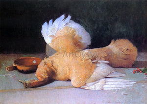Emil Carlsen Still Life with Dead Game - Canvas Art Print