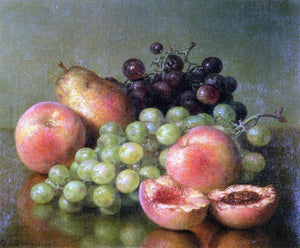 Robert Spear Dunning Still Life with Fruit - Canvas Art Print