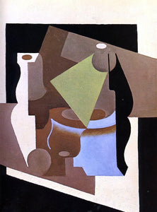 Juan Gris Still Life with Lamp - Canvas Art Print