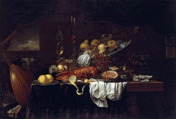 Joris Van Son Still-Life - Canvas Art Print