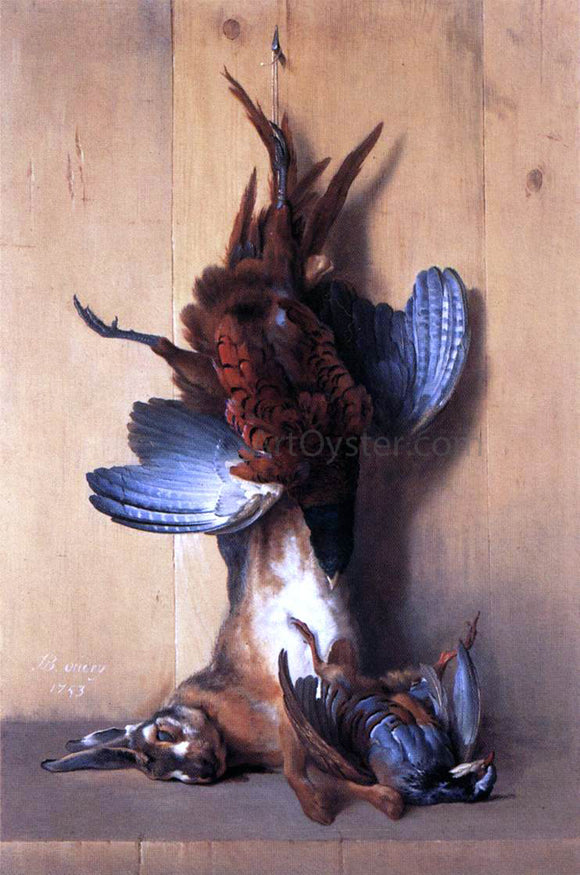 Jean-Baptiste Oudry Still-life with Pheasant - Canvas Art Print