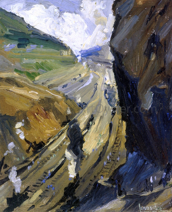 Jonas Lie Study for