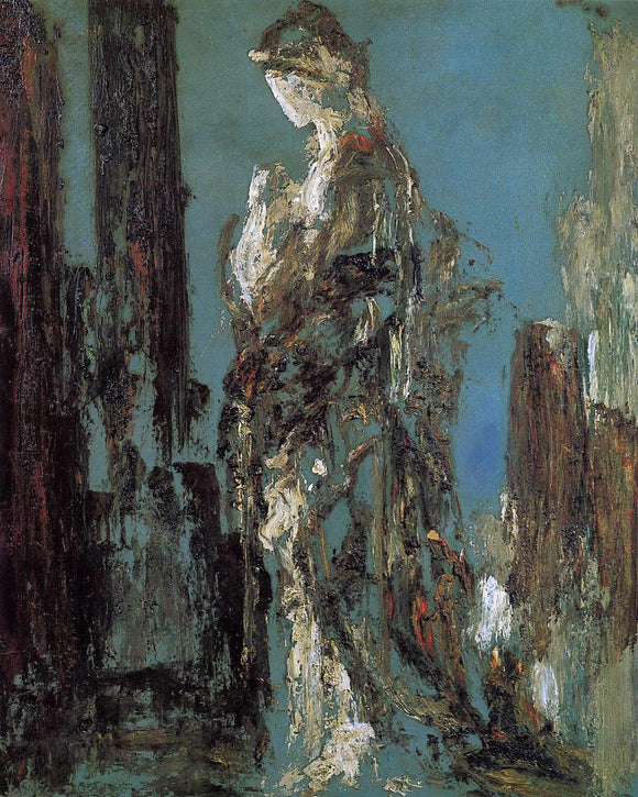 Gustave Moreau Study of Helen - Canvas Art Print