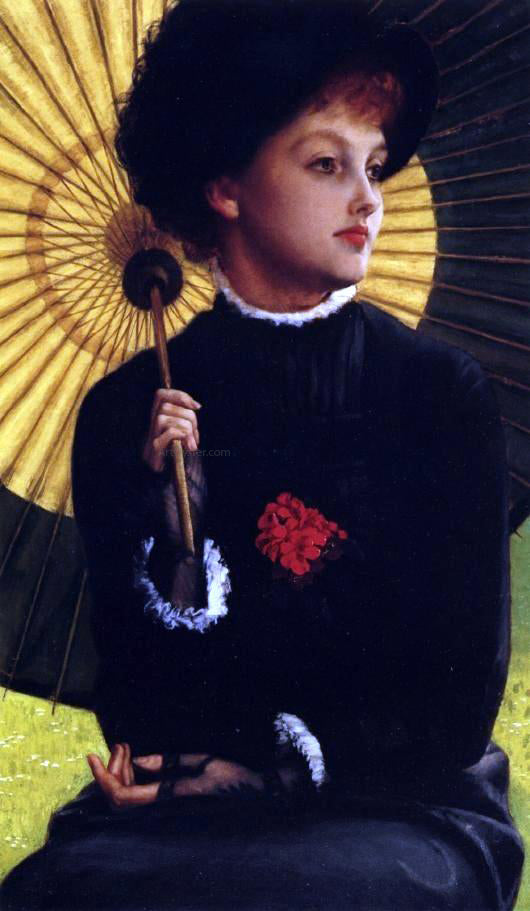 James Tissot Summer (also known as L'Ete) - Canvas Art Print