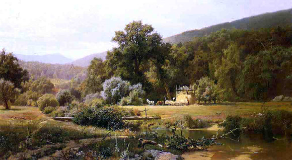 Hugh Bolton Jones Summer in the Blue Ridge - Canvas Art Print