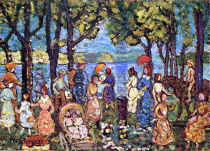 Maurice Prendergast Summer, New England - Canvas Art Print