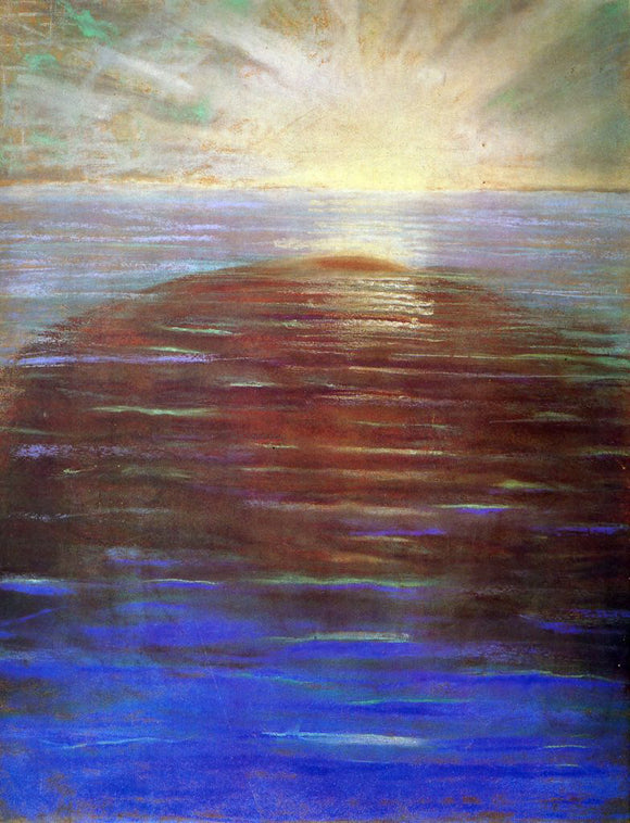 Mikalojus Ciurlionis Sunrise - Canvas Art Print