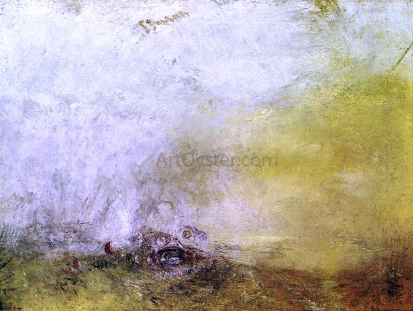 Joseph William Turner Sunrise with Sea Monsters - Canvas Art Print