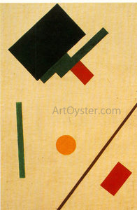 Kazimir Malevich Suprematist Composition - Canvas Art Print