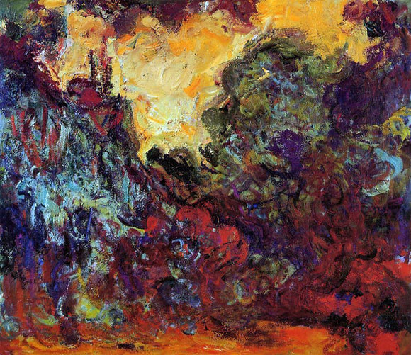 Claude Oscar Monet The Artist's House, View from the Rose Garden - Canvas Art Print