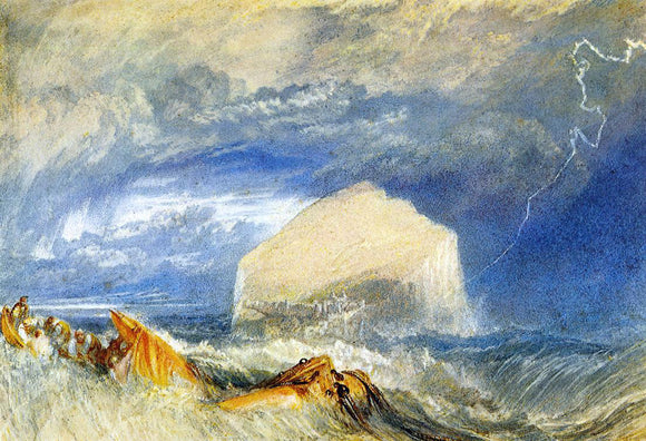 Joseph William Turner The Bass Rock (for