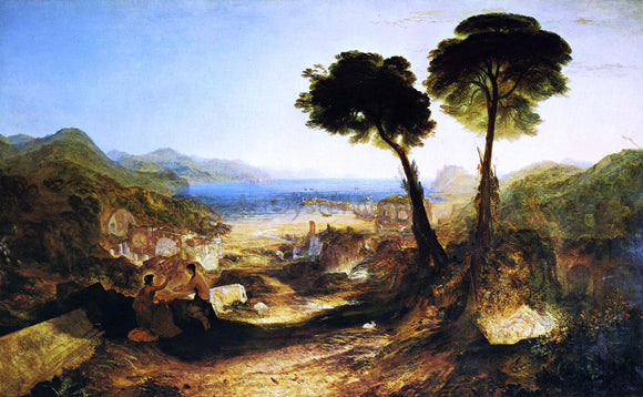 Joseph William Turner The Bay of Baiae, with Apollo and the Sibyl - Canvas Art Print