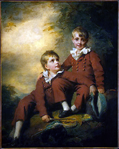 Sir Henry Raeburn The Binning Children - Canvas Art Print